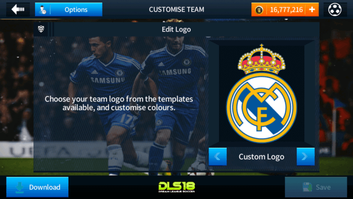Real Madrid logo & Kits Dls