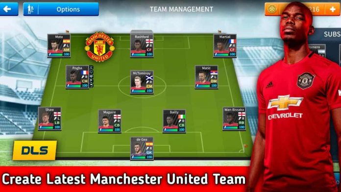 How To Create Manchester United Latest team in Dream League Soccer