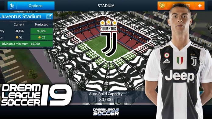 How To Change The Stadium Of Dream League Soccer (Juventus Stadium)