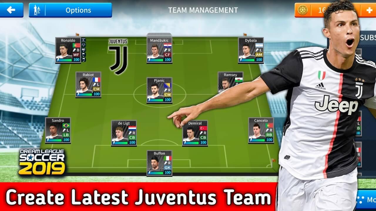 Juventus Team profile.dat download